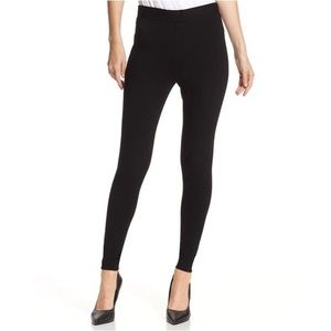 Vince Camuto | Black Cotton Skinny Leggings